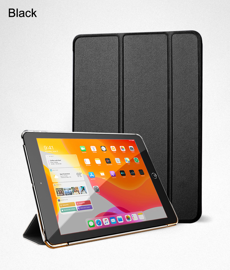 Wake PU 2020 Auto Smart Trifold Stand Flip Case Air Cover 10.9 Leather iPad Full For