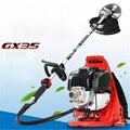 TM-BG335C четырехтактная GX35 бензиновая газонокосилка рюкзак/боковая газонокосилка триммер портативная газонокосилка 1000 Вт 9500р/мин 0.63л