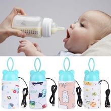 Bags Warmer Heater-Bag Nursing-Bottle-Cover Baby Portable USB Travel-Cup