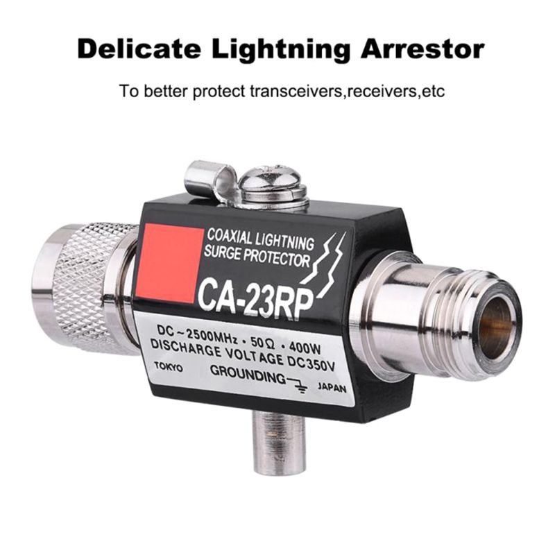 CA-35RS CA-23RP PL259 SO239 Radio Repeater Coaxial Anti-Lightning Antenna Surge Protector