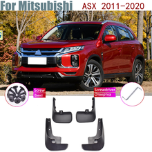 Над крыло брызговики брызговик ЛОСКУТ брызговик аксессуары для автомобиля брызговик крыло для Mitsubishi ASX 2011 2012 2013 2014 2015-2020