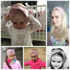 2021 Women Headband Cross Top Knot Elastic Hair Bands Soft Solid Girls Hairband Hair Accessories Twisted Knotted Headwrap 2