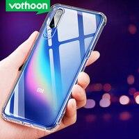 Vothoon Transparent Stoßfest Fall Für Xiaomi Mi 8 se 8 Lite 9 se F1 Klar Silicon Weiche TPU Zurück Fall für Redmi Hinweis 7 8 Pro