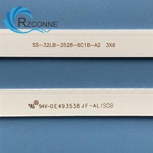 Image 2 - Led Backlight Strip 6 Lamp Voor SVJ320AK3 SVJ320AG2 32D2000 SVJ320AL1 SVJ320AK0 Rev07 6LED 150106 LB C320X14 E12 LED32D7200