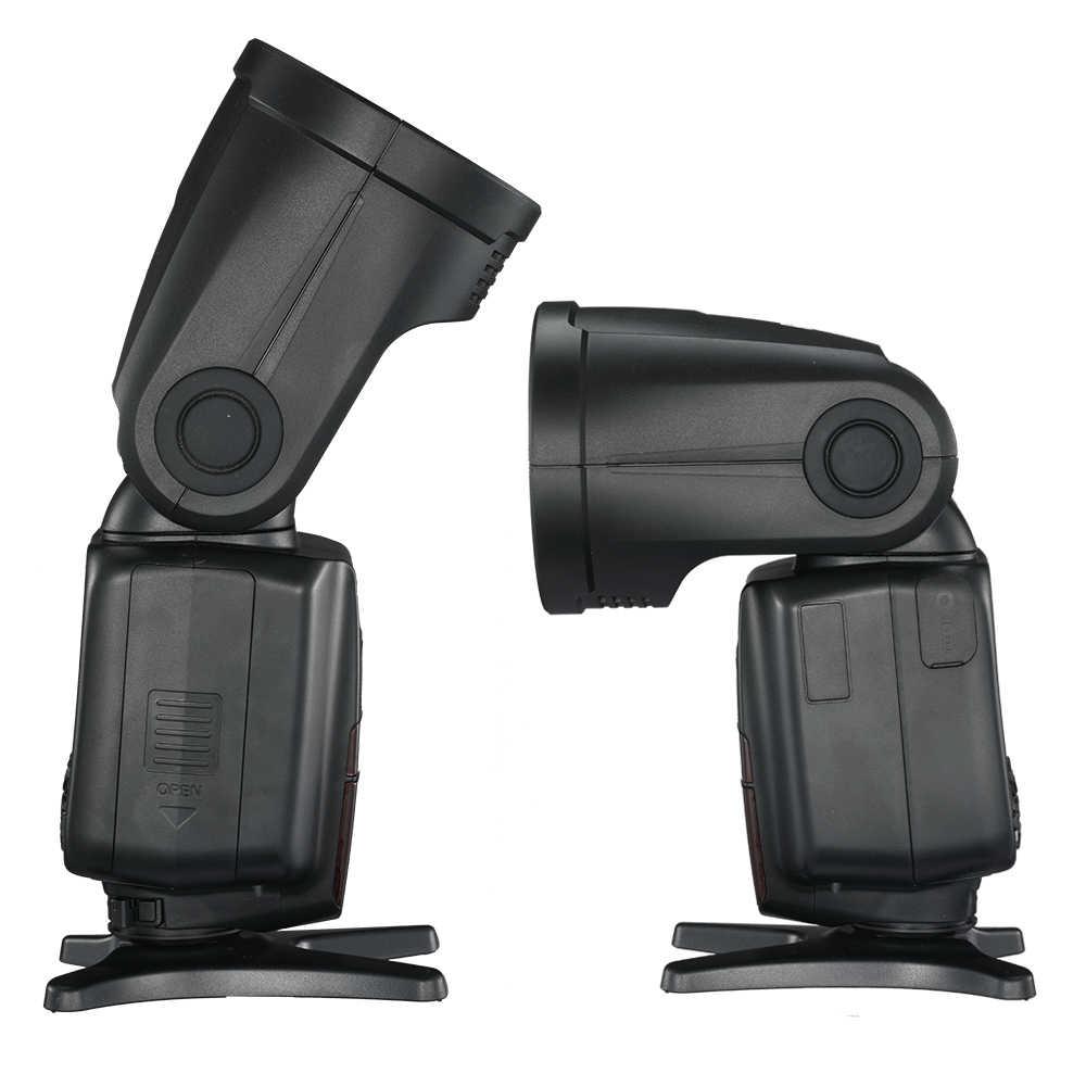 Triopo tr-R1 Macchina Fotografica Flash Speedlite 2.4G X Wireless TTL HSS Rotonda Testa Speedlight Flash Con G2 Trigger per Canon nikon VS V1C