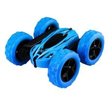 2.4g Rc Car Rock Crawler Roll Car High Speed 360 Degree Flip Radio Controlled Stunt Cars  Stunt Drift Deformation Buggy Car Toys недорого