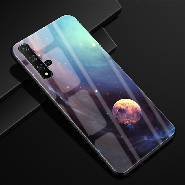 For Huawei Honor 20 Case Tempered Glass 20s Hard Back Cover For Huawei Honor 20 Pro Phone Case Soft Bumper Honor20 Capa Nova 5T