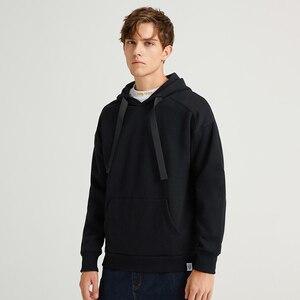 Image 3 - Pioneer Camp multicolore solide sweat à capuche pour homme Streetwear à capuche 100% coton noir marron jaune blanc casual sweat hommes AWY908094