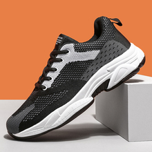 Hot Sale Comfortable Breathable Running Men Casual Footwear Lac-up Lightweight Non Leather Man Sneaker Fashion