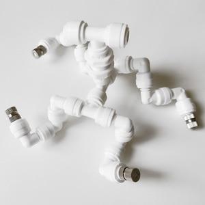 4 головы садовый полив рептилия Fogger Mister с быстрой Соединительная Насадка (0,3 мм) соединить с трубой 1/4
