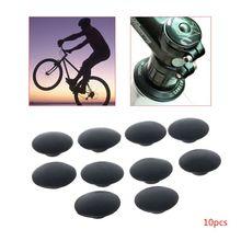 10pcs Bicycle Headset Cap Waterproof Dustproof M6 Screw MTB Bike Stem Top Cover D5BA