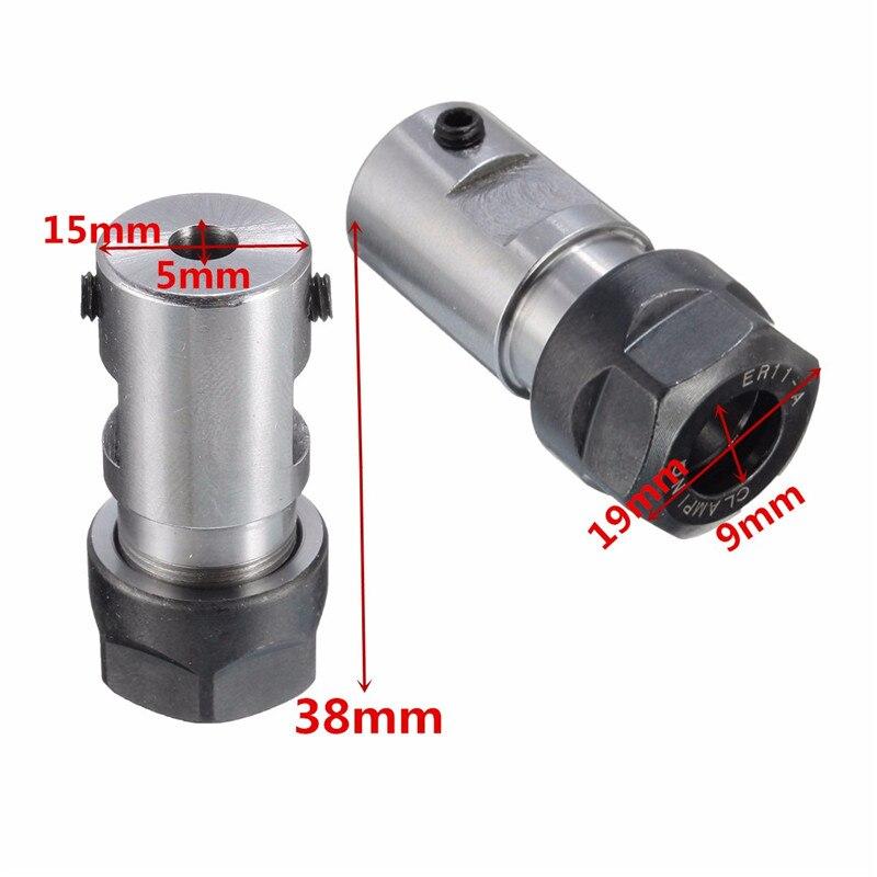 Collet Chuck ER11A Extension Rod Holder 5mm For CNC Milling Grinding Motor Shaft Lathe Tool Holder Machine Tool Parts