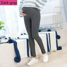 Pants Trousers Belly Maternity-Leggings Pregnant-Thin Summer Spring for L167 Nine Adjustable