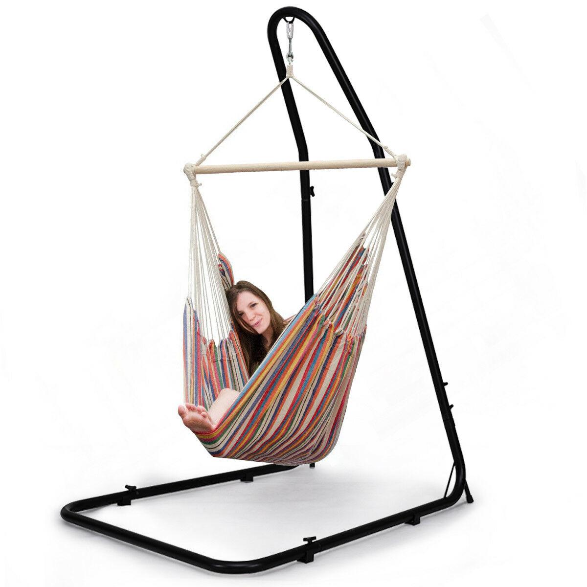 Costway Adjustable Hammock Chair Stand For Hammocks Swings