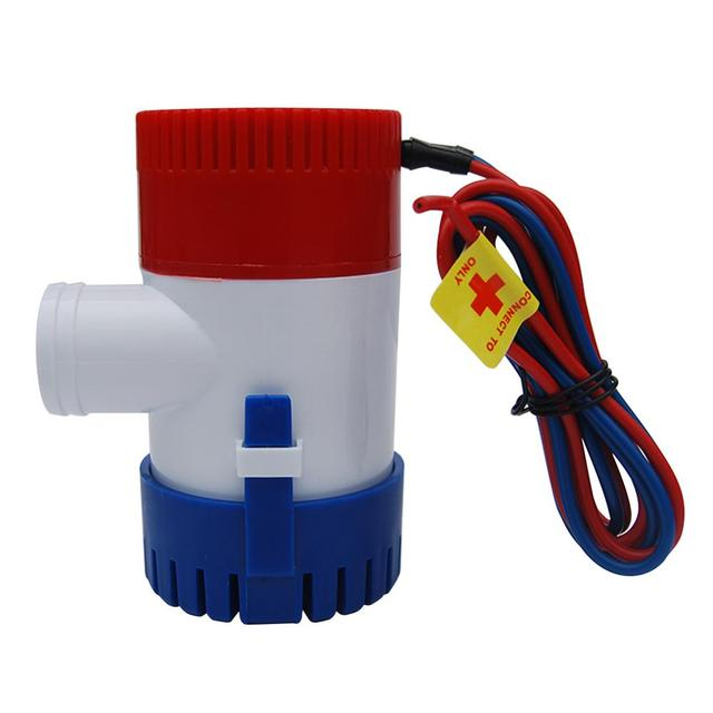 1100GPH 12V Electric Marine Submersible Water Pump For Boat RV Campers Durable Water Pump Without Bilge Switch Boat Accessories 2