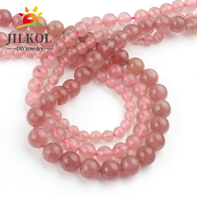 Strawberry Quartz Faceted Rondelle Beads,Natural Strawberry Quartz  Beads,15 inches one starand