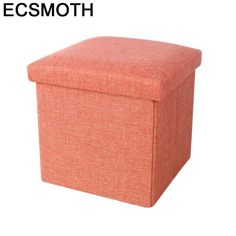 Taburet Moderno Fauteuil Gonflable Puf Taburete Pouffe Bancos De Madeira Pouf Poef Kids Furniture Change Shoes Foot Stool