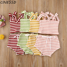 casaco infantil bebes girl snow clothes winter rompers hoodies roupa kids clothing one piece baby girls boys love pink suits 2020 Summer Girls Clothes Set Children Kids Sling Striped Tops+Shorts 2Pcs Baby Girl Clothing Suit roupa infantil 0-24M