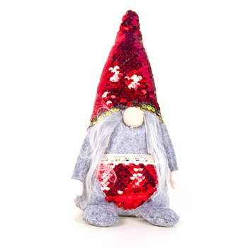 Fabric Sequin Christmas Faceless Old Man Doll Christmas Doll Decoration Cute Small Christmas Faceless Doll christmas decoration old man snowman elk christmas gift small pendant plush doll christmas tree pendant decoration