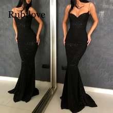 Женские блестящие платья с блестками черные серебристые вечерние