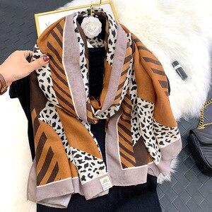Image 5 - 2020 herbst winter frauen strand qualität schal baumwolle schal dame mode schals bandana pashmina wrap hijab muffler kostenloser versand