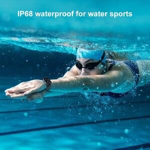 Image 4 - Ip68 à prova dip68 água relógio inteligente kospet magia 3 2021 homens smartwatch toque completo rastreador de fitness masculino relógio de pulso para ios android