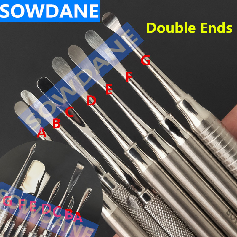 Double Ends Dental Implant Periosteal Elevator Tool for Reflecting and Retracting Splitter Seperator Oral Care Stianless Steel