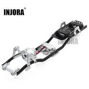 Колесная база INJORA 313 мм, 12,3 дюйма, префиксированная коробка передач, металлическая рама для радиоуправляемого автомобиля на гусеничном ходу...