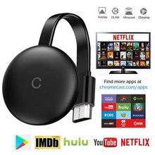 ТВ-приемник 2,4G Wifi 1080P для Google Anycast TV приемник Miracast TV Dongle для YouTube Netflix