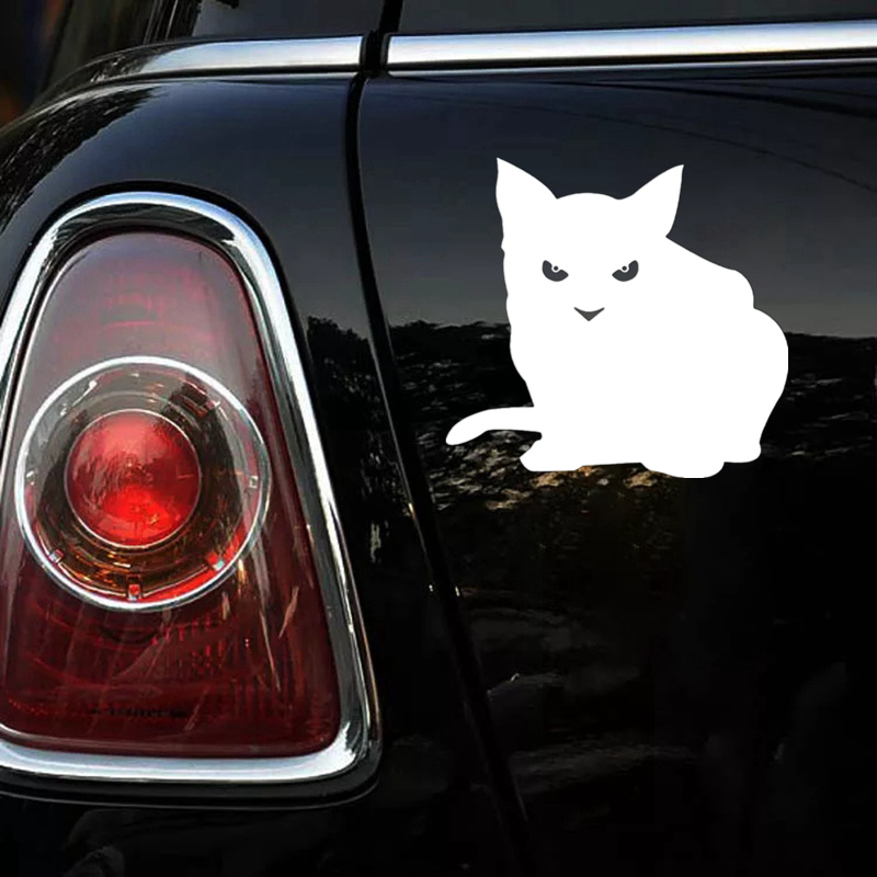 Купить 30633# наклейки на авто сексуальная кошка кот водонепроницаемые