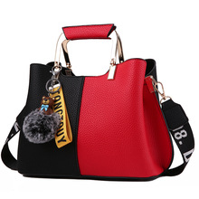 Fashion crossbody bags for women Handbags 2019 New Patchwork Shoulder Messenger Bags Luxury Brand Soft Zipper Pu Leather Bags asyion 2016 new fashion pu leather shoulder bags brand women leather handbags leisure crossbody bags women messenger bags a6608
