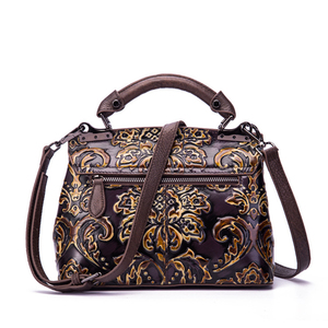 Image 4 - Bolsa feminina de couro legítimo, nova bolsa feminina modelo carteiro feita em couro legítimo com alça carteiro e alça de mão