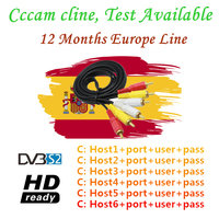 Best Stable Europe CCcam Spain for 1 Year GTmedia V8 Nova Europe Cline 3 year Portugal Servers Free CCcam Cline