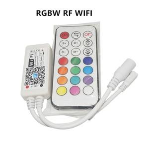 Image 5 - Magic Home contrôleur wi fi, 12V 24V dc, Bluetooth, RGB/RGBW IR contrôleur RF LED, pour bande led 5050 WS2811 WS2812B pixels