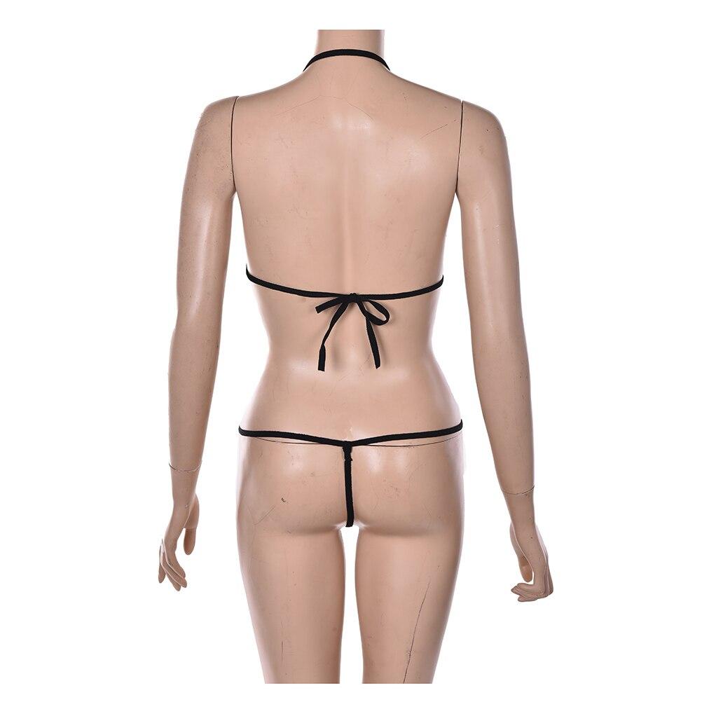 Lingerie Lace Sleepwear Pajamas Erotic Uniform Women's Underwear Conjoined Dress Leotard Intimates