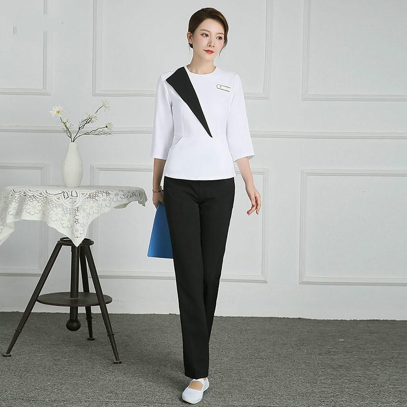 Купить косметологическая рабочая одежда корейская версия костюм для