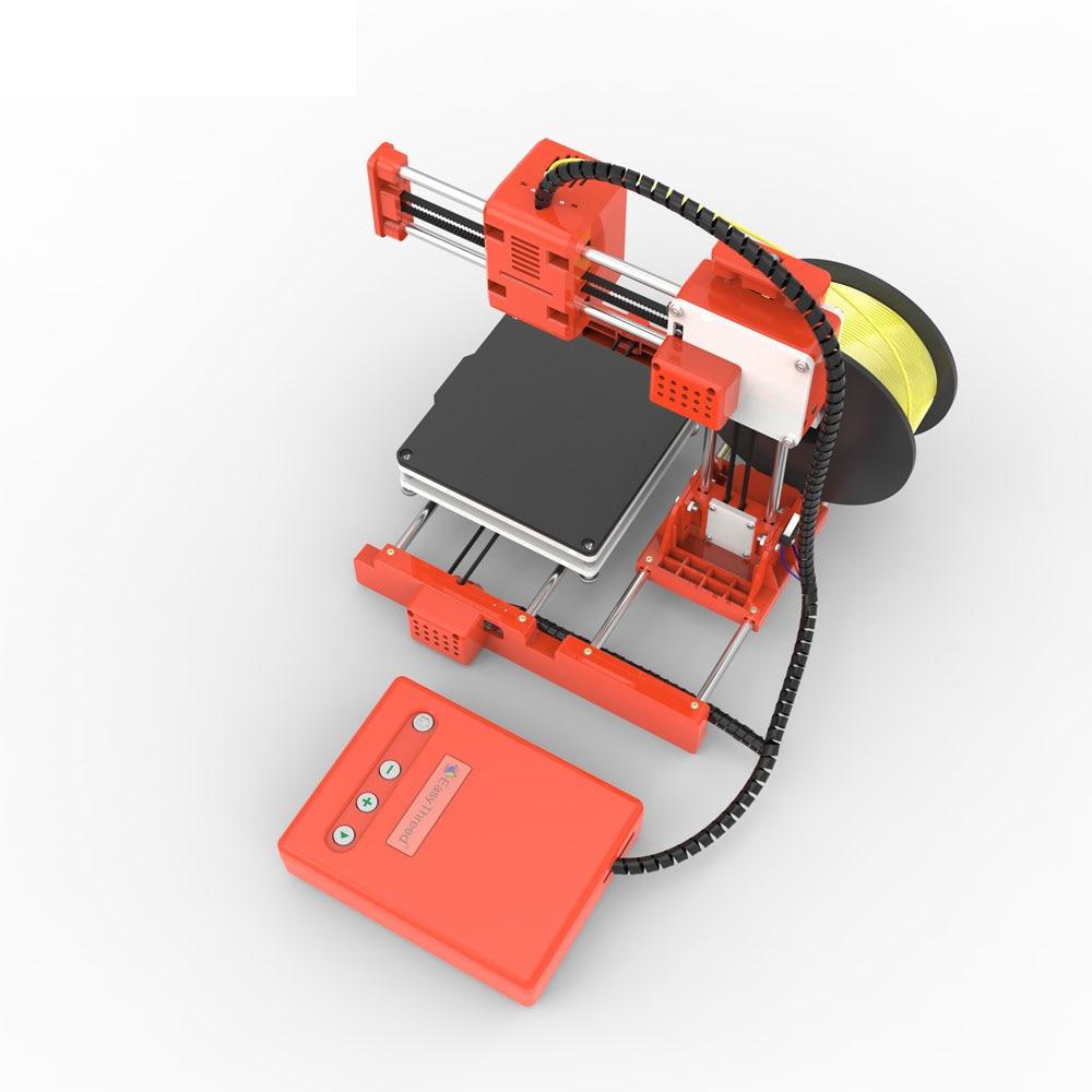Mini Portable  Kids 3D DIY Printer for Household Education 33