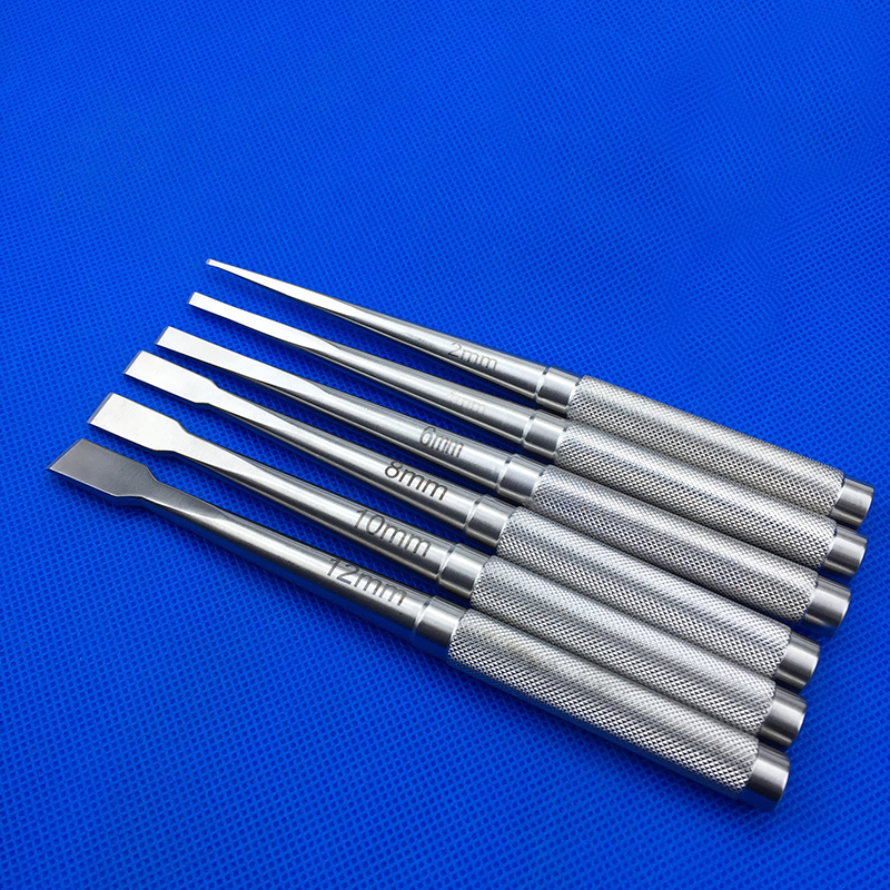 New Bone Knife Nasal Bone Chisel Reshape Tools Nasal Osteotome Stainless Steel Cosmetic Surgery Instrument Nose Plastic Tool