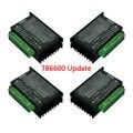 4 шт. TB6600 обновленная версия Драйвер шагового двигателя 4A 9 ~ 42 в TTL 32 микро-шаг CNC 1 Ось 2 или 4 фазы 42 57 86 контроллер двигателя