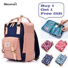 Fashion Women Laptop Backpack Female Nylon Bookbag Travel Backpack Large Capacity Bolsa Escolar Bagpack Women Girl School Bag недорого