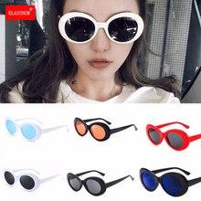 Lunettes de soleil rétro Vintage unisexe, lunettes de soleil de rappeur ovales, Punk Rock Band, lunettes de conduite pour Sports de plein air, cadeaux