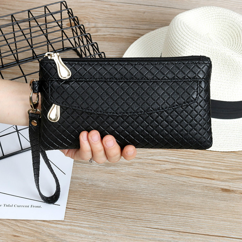 New Fashion Pu Leather Women Wallet Clutch Women's Purse Best Phone Wallet Female Case Phone Pocket Carteira Femme