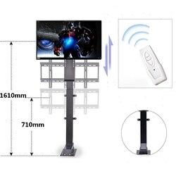 Stille Gemotoriseerde 900 Mm Auto Tv Lift W/Afstandsbediening Met Geheugenfunctie Voor Groot Scherm 30 ''~ 60 ''Uk Plug