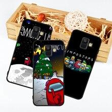 Funda Among A10 Samsung Galaxy Plus-Cover Cartoon A9 A30 A40 A50 J4 J6 J8 Coque Us-Game