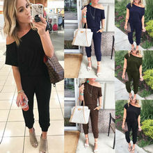 Goocheer New Fashion Women Clubwear Summer Playsuit Bodycon Party Jumpsuit Romper Trousers