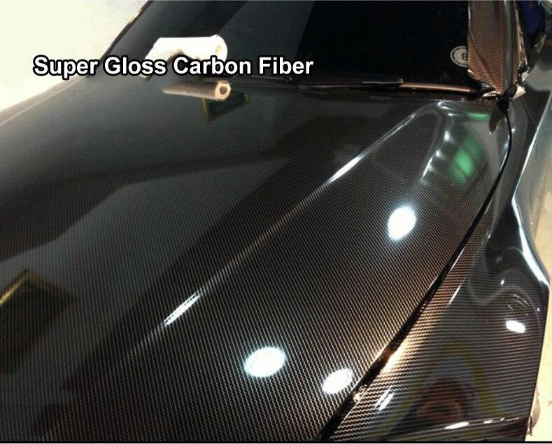 Fengyuanhong Auto in fibra di carbonio della pellicola del vinile che sposta ruspa Car Window Styling Sticker Pellicola a bolle dLavavetri raschietto