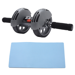 Second Generation Power Abdominal Wheel  No Noise  Double Wheel Abdominal Power  Fitness Equipment Ab Roller Gym Roller Trainer