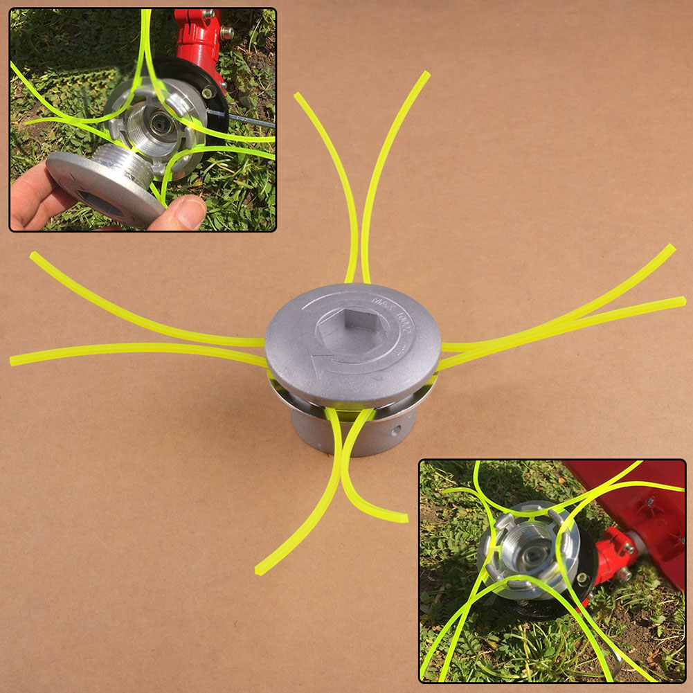 Hot Universal Trimmer Heads String Set Grass Brush Cutter Accessories Garden Tools Simple, Convenient And Durable