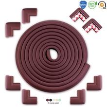 5 м+ 8 шт Детская безопасность защита углов угловая защита для стола защита углов детская мебель бампер угловая подушка