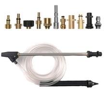 For Karcher/Nilfisk/Elitech/Lavor Pressure Washer SandBlasting Kit Wet Sandblaster Lance Nozzle  with 1/4 Quick Connector